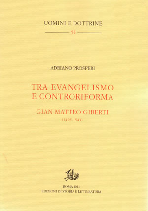 copertina di Tra evangelismo e controriforma
