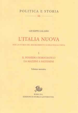 copertina di L'Italia nuova. Per la storia del Risorgimento e dell'Italia unita