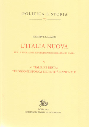 copertina di L'Italia nuova per la storia del Risorgimento e dell'Italia unita