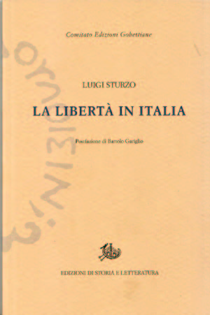 copertina di La libertà in Italia