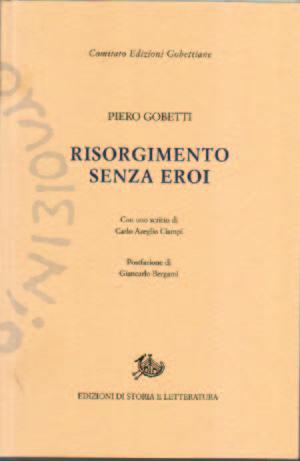 copertina di Risorgimento senza eroi
