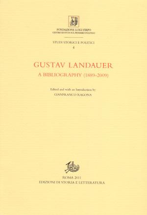 copertina di Gustav Landauer
