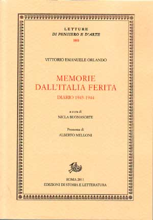 copertina di Memorie dall'Italia ferita