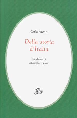 copertina di Della storia d'Italia