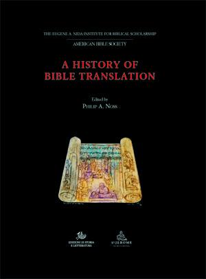 copertina di A History of Bible Translation