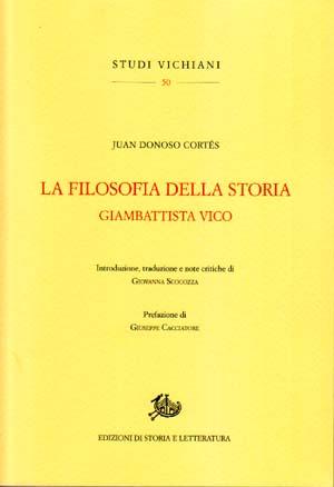copertina di La filosofia della storia