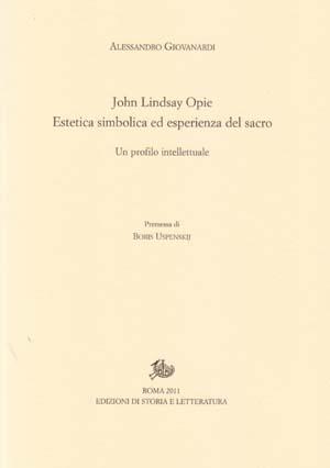 copertina di John Lindsay Opie
