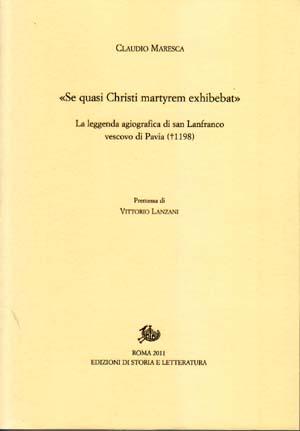 copertina di «Se quasi Christi martyrem exhibebat»