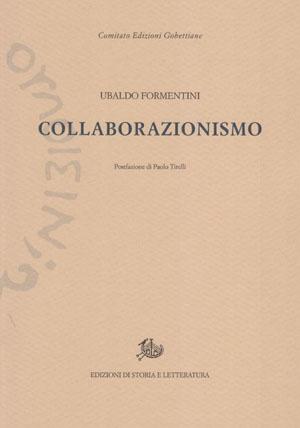 copertina di Collaborazionismo