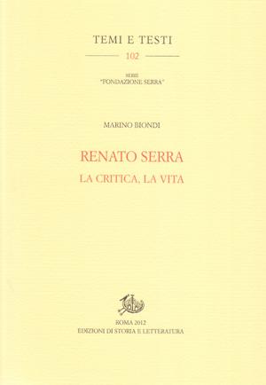 copertina di Renato Serra