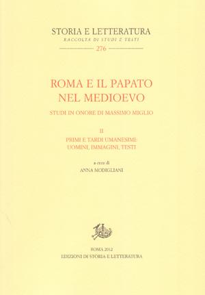 copertina di Roma e il papato nel Medioevo