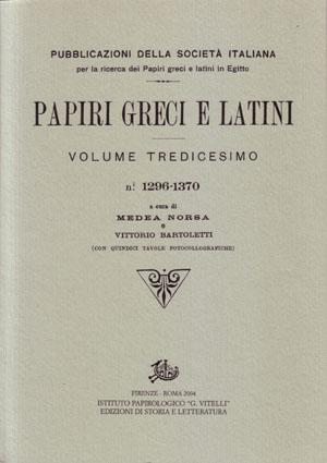 copertina di Papiri greci e latini