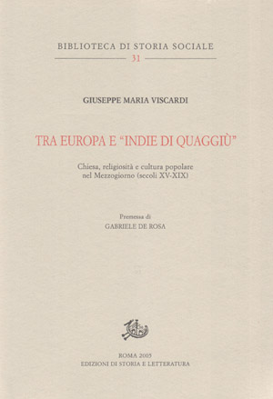 copertina di Tra Europa e 'Indie di quaggiù'
