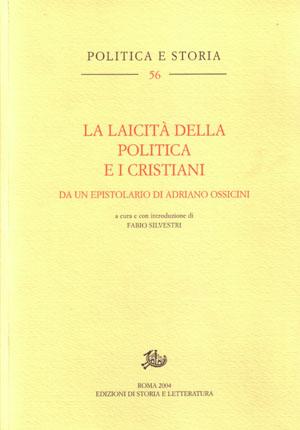 copertina di La laicità della politica e i cristiani