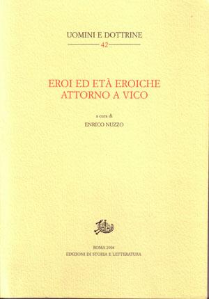copertina di Eroi ed età eroiche attorno a Vico