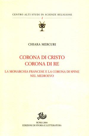 copertina di Corona di Cristo, corona di re