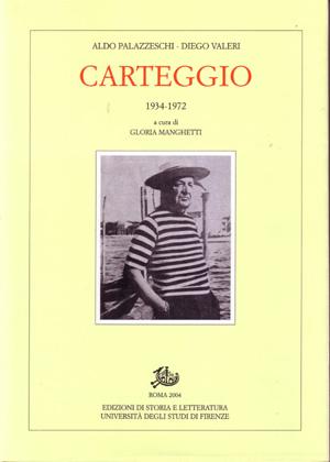 copertina di Carteggio 1934-1972