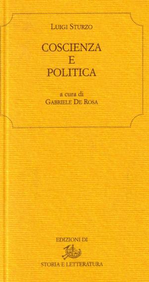 copertina di Coscienza e politica
