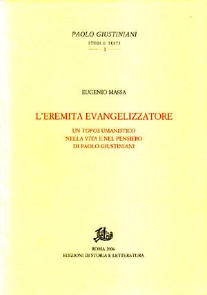 copertina di L'eremita evangelizzatore