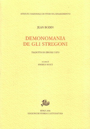 copertina di Demonomania de gli stregoni