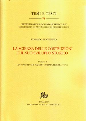 copertina di La scienza delle costruzioni e il suo sviluppo storico