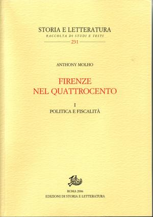 copertina di Firenze nel Quattrocento