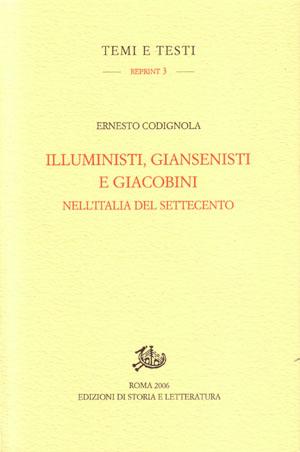 copertina di Illuministi, giansenisti e giacobini