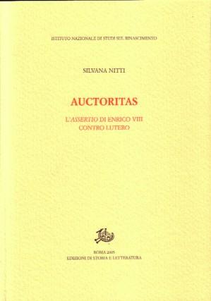 copertina di Auctoritas
