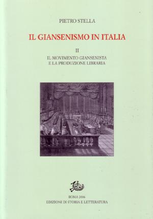 copertina di Il giansenismo in Italia