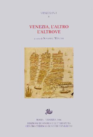 copertina di Venezia, l'altro, l'altrove