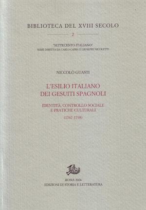 copertina di L'esilio italiano dei gesuiti spagnoli