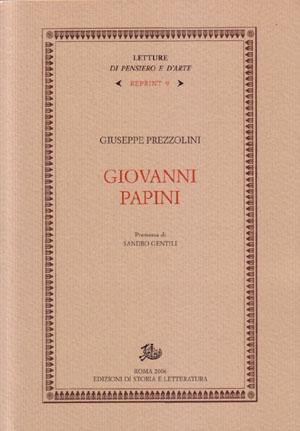 copertina di Giovanni Papini