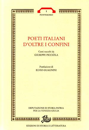 copertina di Poeti italiani d'oltre i confini