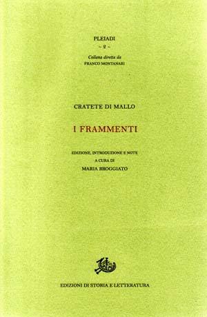 copertina di I frammenti