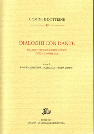 copertina di Dialoghi con Dante