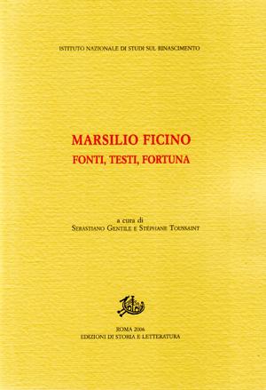 copertina di Marsilio Ficino