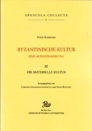copertina di Byzantinische Kultur. III. Eine Aufsatzsammlung