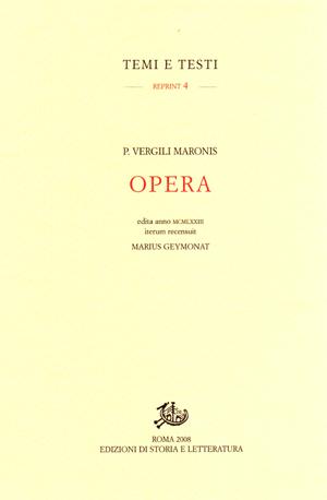 copertina di Opera