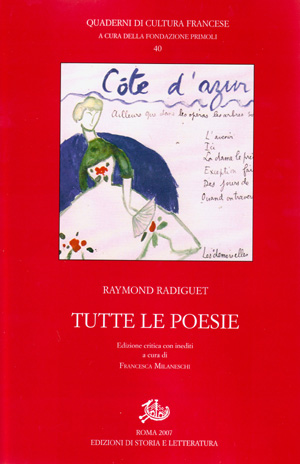copertina di Tutte le poesie
