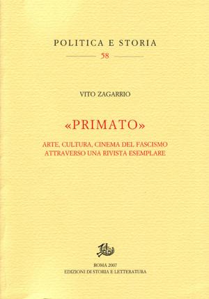copertina di «Primato»