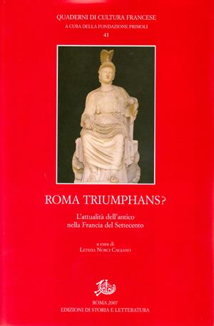 copertina di Roma Triumphans?