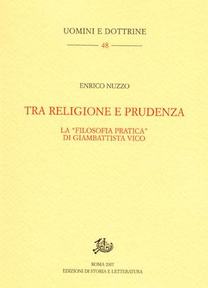 copertina di Tra religione e prudenza