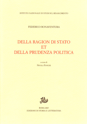 copertina di Della ragion di stato et della prudenza politica