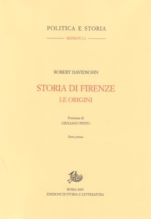 copertina di Storia di Firenze