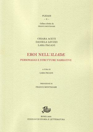copertina di Eroi nell'Iliade