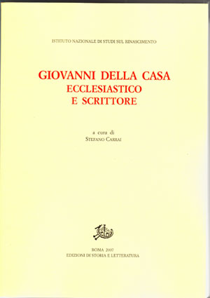 copertina di Giovanni Della Casa