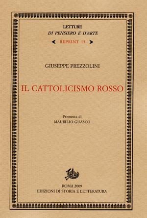 copertina di Il cattolicismo rosso