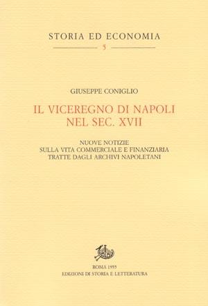 copertina di Il viceregno di Napoli nel sec. XVII