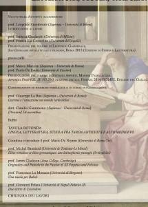 Tradizione vs innovazione in Età tardo antica. Letteratura, scuola, traduzione